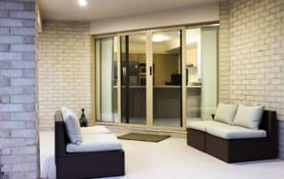 Stone Beige Sliding Door