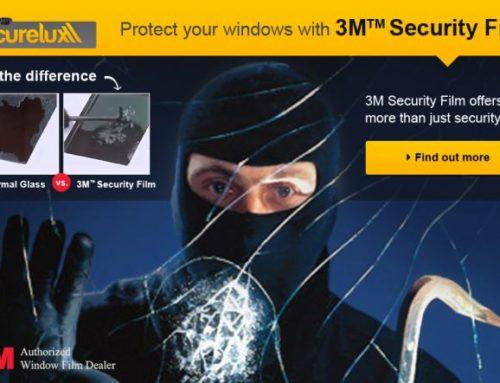 3M Security Film in Brisbane for superior security