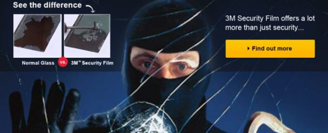 3M Security Film in Brisbane