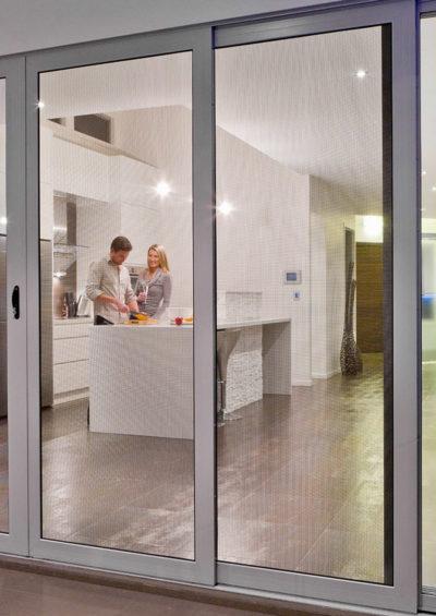 Security screen doors on the Gold Coast