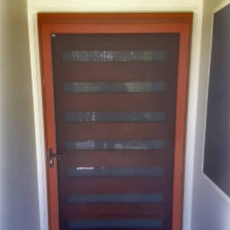 Woodgrain Pivot Door